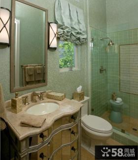 2012年卫生间瓷砖背景墙装修效果图