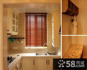 50平色彩绚丽小窝田园家居装修客厅图片