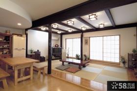 日式两室两厅餐厅装修案例图片