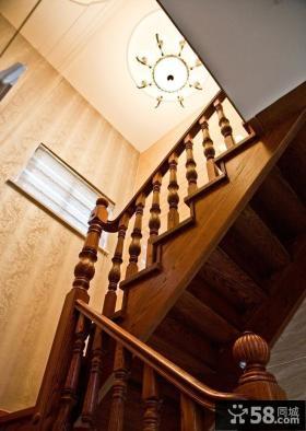 古典欧式实木楼梯大全