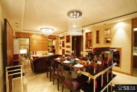 客餐厅天花板吊顶设计效果图