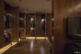美式时尚设计衣柜效果图