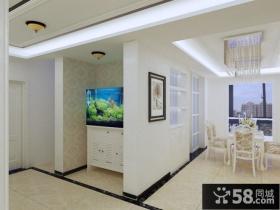 9万打造欧式现代风格室内客厅吊顶装修效果图大全2012图片