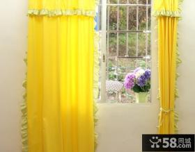 儿童房间飘窗窗帘图片