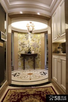 欧式家庭设计室内玄关效果图欣赏大全
