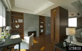 别墅现代简约风格装修样板间效果图