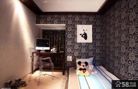 小户型儿童房壁纸装修设计