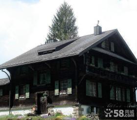 北欧风格一层乡村别墅设计效果图