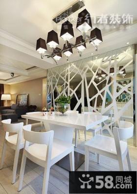 现代简约式家装餐厅装修图片欣赏