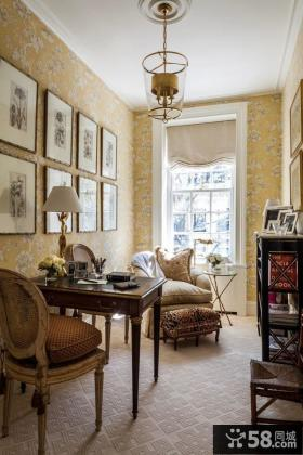 欧式古典书房装饰欣赏
