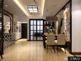 现代中式客厅家具摆放图片