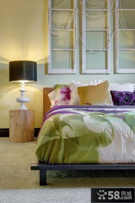 东南亚风格卧室床头灯具图片