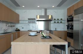 现代厨房橱柜效果图欣赏大全