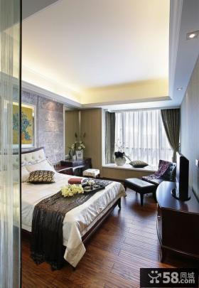 现代装饰卧室吊顶欣赏