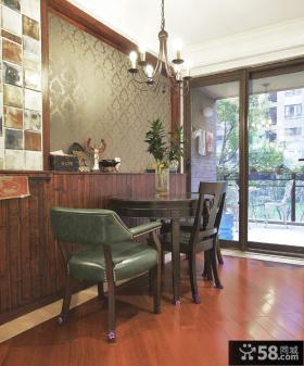 美式乡村风格三室一厅装修效果图欣赏
