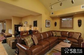 美式小客厅装修效果图