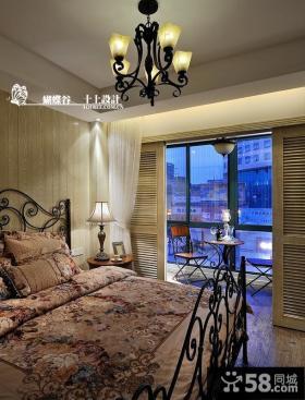 卧室带阳台设计效果图