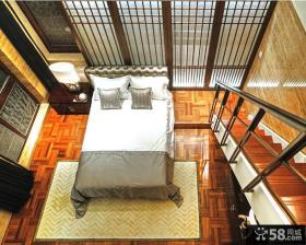 中式古典风格卧室装修效果图