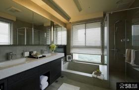 现代风格卫生间设计欣赏大全
