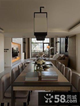 现代简约装修餐厅设计