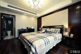 新中式设计别墅卧室装修图片