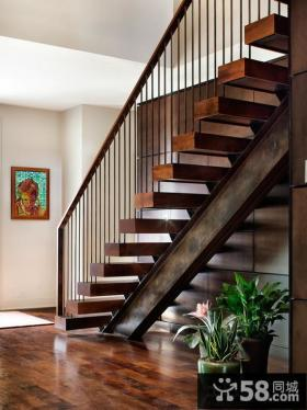 家庭设计室内楼梯效果图大全欣赏