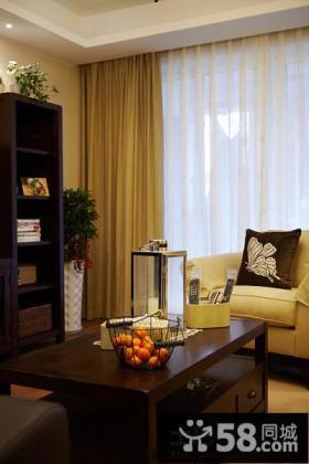 家居客厅窗帘搭配效果图