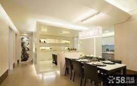 简约风格现代餐厅设计