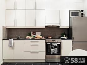 90平米简欧风格厨房橱柜装修效果图大全2012图片