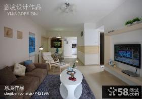 小户型家庭客厅装修效果图欣赏