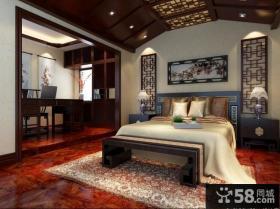 古典卧室设计效果图