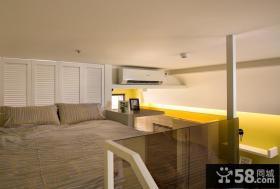 现代复式家居卧室室内效果图欣赏