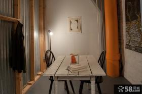 家装阳台变书房装修效果图