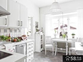 北欧风格40平米公寓装修卧室效果图