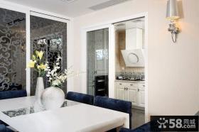 现代风格客厅餐厅一体设计