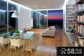 170万打造现代风格客厅电视背景墙装修效果图大全2014图片