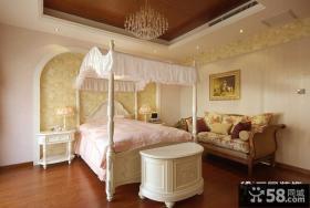 别墅卧室吊顶装修效果图大全