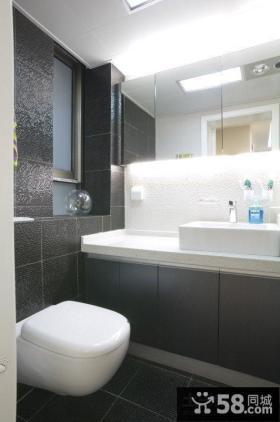 80平米小户型卫生间装修设计图