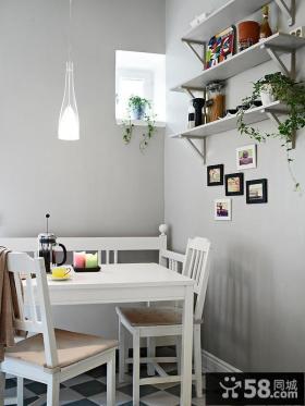 80平米小户型餐厅效果图大全2014图片