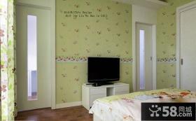 优质卧室电视背景墙效果图大全