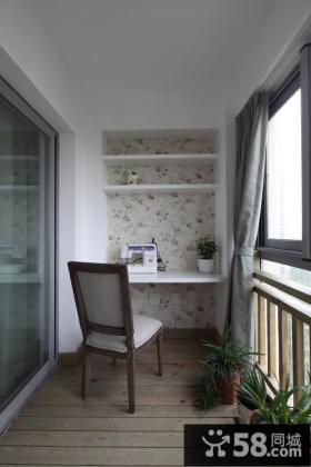 家庭设计室内阳台效果图2015