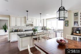 别墅欧式厨房装修图片欣赏