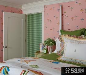 卧室壁纸装修效果图片
