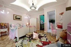 豪华复式楼儿童房设计效果图