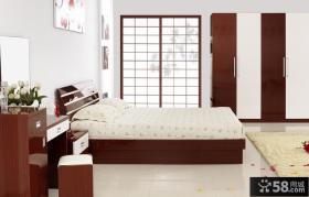 时尚卧室衣柜设计效果图