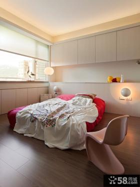 台北华景园室内卧室装修效果图大全2014图片