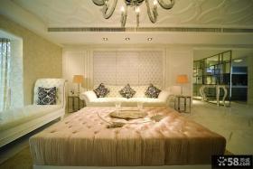 客厅软包沙发背景墙效果图