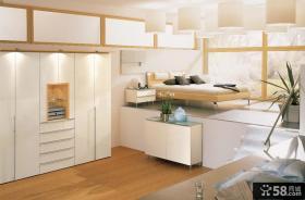 现代简约卧室装修效果图大全 卧室灯池吊顶装修效果图