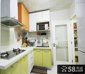 小户型厨房橱柜设计效果图
