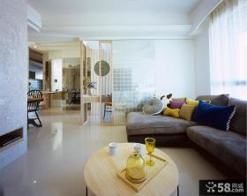 美式风格90平米公寓设计效果图大全